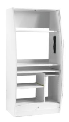 Meuble multimédia Solo 80 cm, blanc