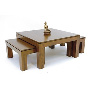 Ensemble 3 tables basses Soraya