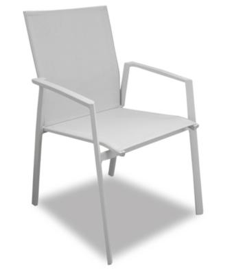Lot de 2 fauteuils aluminium Sparta
