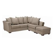 Canapé d'angle Striata bachette ...