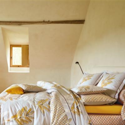 Parure de lit percale Saint Rémy...
