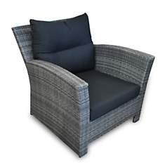 Lot de 2 fauteuils Seattle en résine  tr...