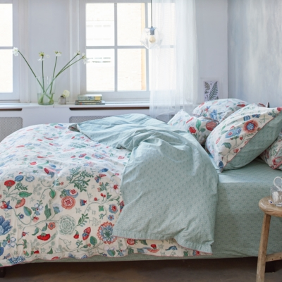 Drap housse percale Spring to Li...