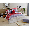 Taie d'oreiller percale Stripe  TRADILINGE, Pacific