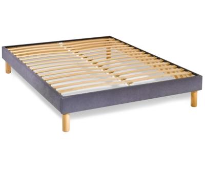 sommier tapissier kit gris 14 cm. Black Bedroom Furniture Sets. Home Design Ideas