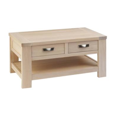 table basse 2 tiroirs isabel. Black Bedroom Furniture Sets. Home Design Ideas