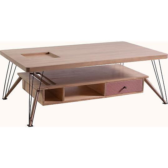table basse ombra. Black Bedroom Furniture Sets. Home Design Ideas