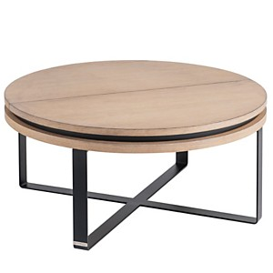 Table basse ronde relevable Mervent