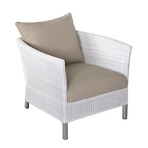 Lot de 2 fauteuils Thyme sofa blanc +  c