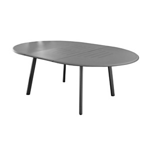 Table Azur ronde 200 Océo avec allonge