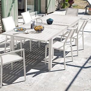 Ensemble table Milano avec 4 chaises et