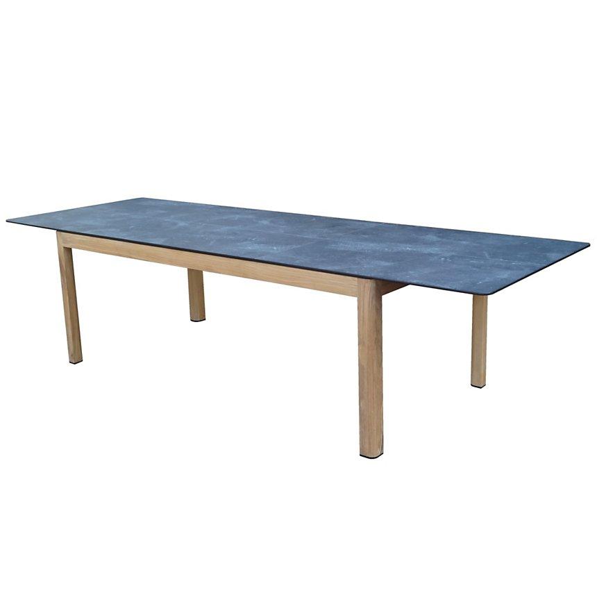 Table Tekura teck/HPL 8-12 personnes