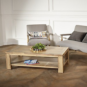 Table basse en bois, ENZO
