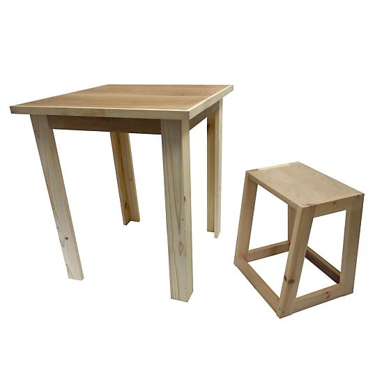 Ensemble table 2 tabourets tempo - Ensemble table bar et tabouret ...