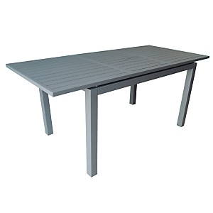Table Trieste 280 avec allonge papillon
