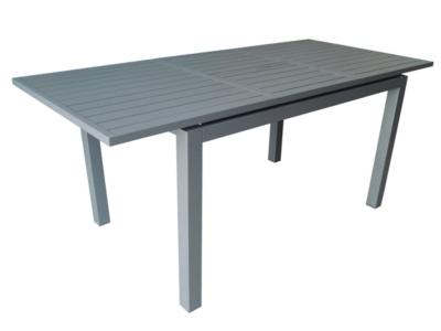 Table Trieste 280 avec allonge papillon  et structure aluminium Pro Loisirs