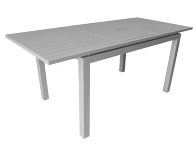 Ensemble table Trieste et 6 fauteuils  Thema taupe/orange