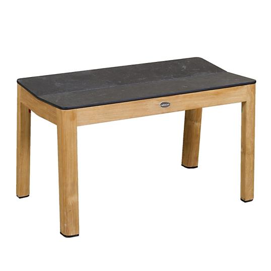 banc de table tekura larg 80 cm teck hpl. Black Bedroom Furniture Sets. Home Design Ideas