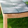 Banc de table Tekura larg. 80 cm,  teck/HPL