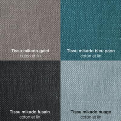 Canapé tissu coton lin Marbella