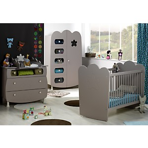 Chambre bébé complète Silène àbarreaux