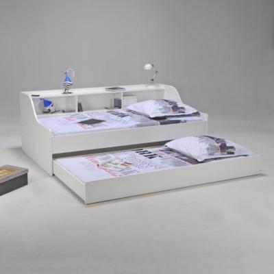 lit rangement wylene 90 x 190 cm. Black Bedroom Furniture Sets. Home Design Ideas