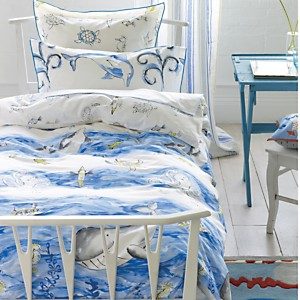 Drap housse Whale of a Time DESIGNERS  GUILD