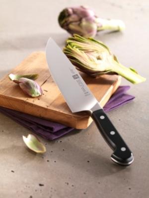 Set de 3 couteaux ZWILLING gamme Pro  office 10 cm+trancheur 20 cm+chef 20 cm