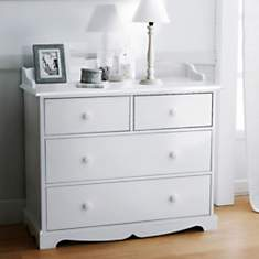 commode blanche camif
