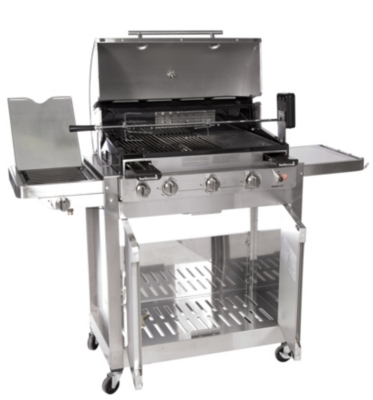 barbecue gaz barbecook brahma 5 2 inox. Black Bedroom Furniture Sets. Home Design Ideas