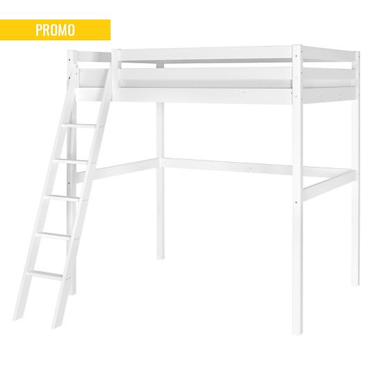 lit mezzanine 140 x 200 cm smarty. Black Bedroom Furniture Sets. Home Design Ideas