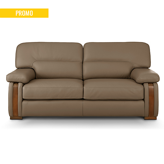 canap cuir avec boiserie edenia. Black Bedroom Furniture Sets. Home Design Ideas