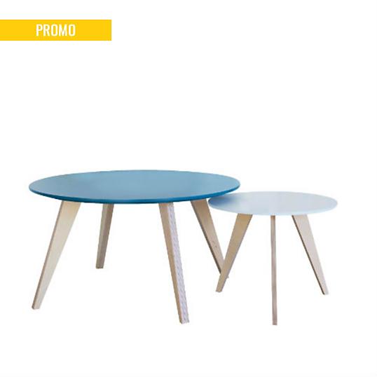 tables basses gigognes tables de salon victorine. Black Bedroom Furniture Sets. Home Design Ideas