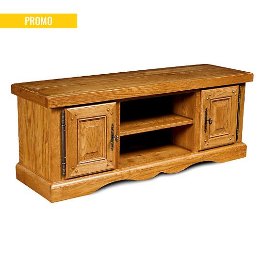 Meuble tv bas en chene la bresse - Camif meubles chambre ...