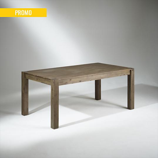 Table de salle manger bois 8 couverts enzo for Table de salle a manger 15 couverts
