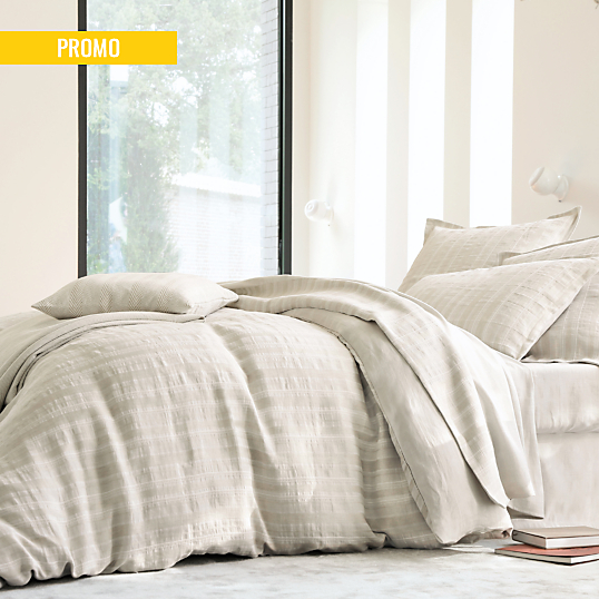 housse de couette coton lin n pal blanc des vosges lin. Black Bedroom Furniture Sets. Home Design Ideas