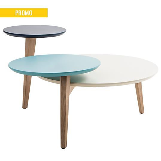 table basse 3 plateaux odense. Black Bedroom Furniture Sets. Home Design Ideas