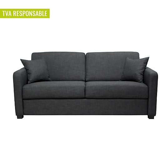 canap convertible parme matelas 14cm. Black Bedroom Furniture Sets. Home Design Ideas