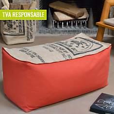 Banquette pouf Café Doux LILOKAWA,  oran