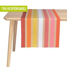 Lot de 2 chemins de table Garlin ARTIGA,