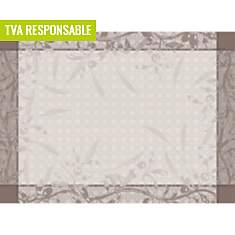 Lot de 4 sets de table antitaches  Persé