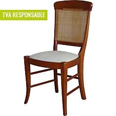 Lot de 2 chaises merisier Sanroma