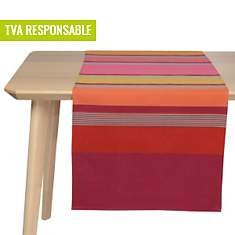 Lot de 2 chemins de table Bidos Cassis