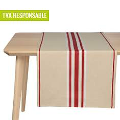 Lot de 2 chemins de table Corda ARTIGA