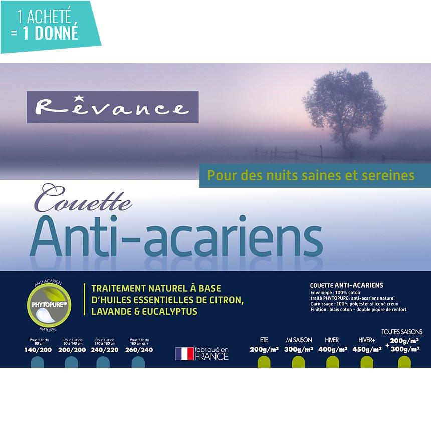 Couette Phytopure REVANCE, tempérée