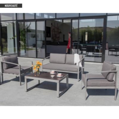 Ensemble Trieste PRO LOISIRS composé de  2 fauteuils et 1 canapé