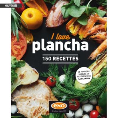 Livre de recettes I Love Plancha ENO