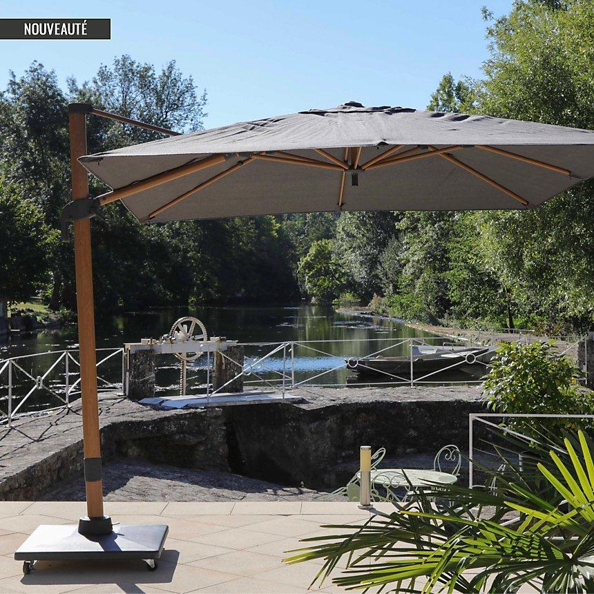 Pieds pour parasol NUVOLA PVC/ ciment 90 KG