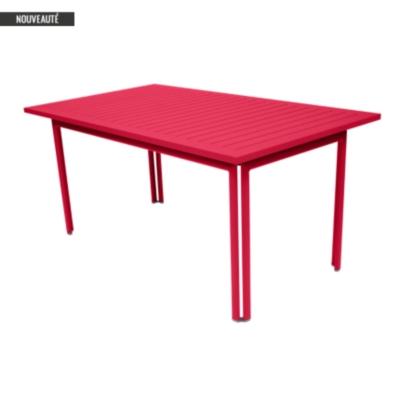 table aluminium fermob costa 160 x 80 cm. Black Bedroom Furniture Sets. Home Design Ideas