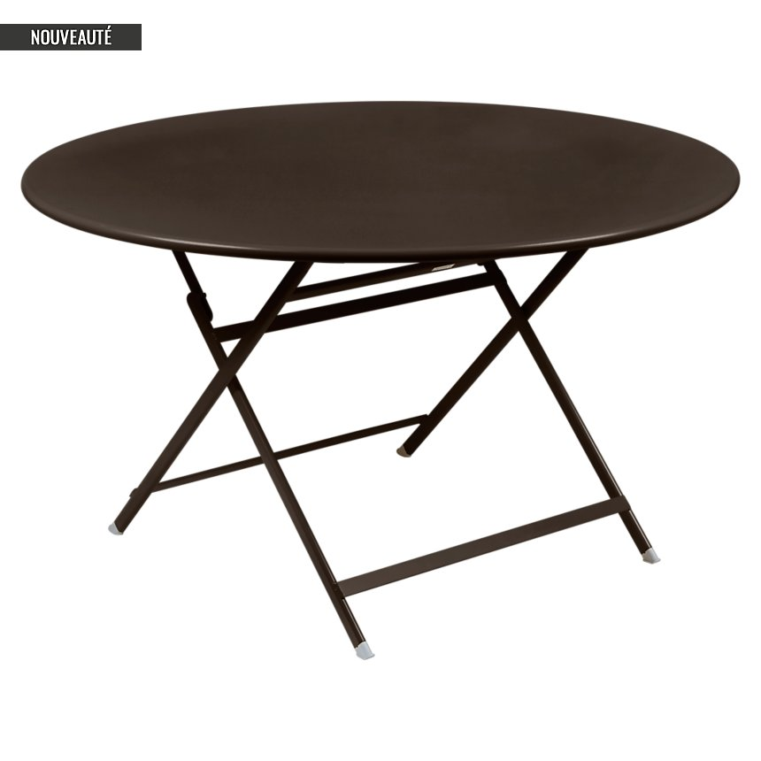 Table ronde pliante 128 cm Caractère FERMOB